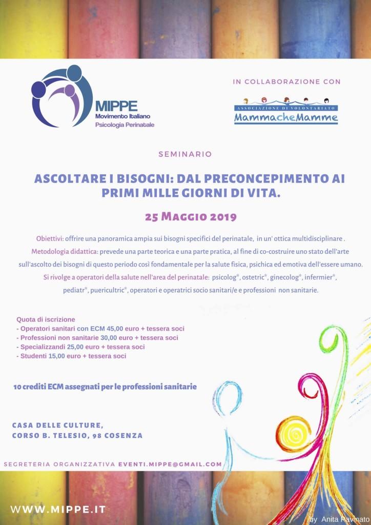 locandina seminario annuale mippe